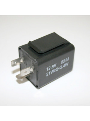 [208-016] Blinkersrelä, 3 Pole elektronisk 12 V