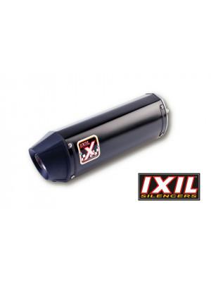 [074-980] Rostfri ljuddämpare-helsystem HEXOVAL XTREM svart MT-09, svart Endcap, med katalysator