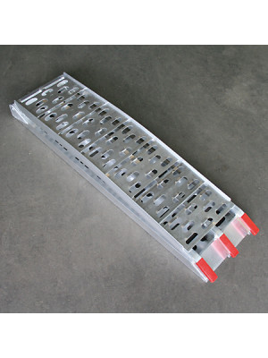 [397-105] Vikbar aluminiumramp CROSS