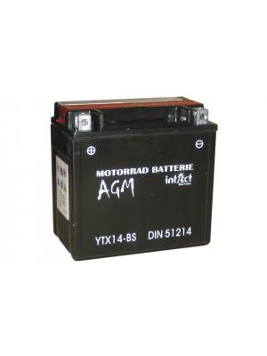[297-214] Bike Power battery YTX 14-BS, maintenance-free, -incl. acid-package