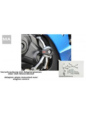[550S123.1] CRASH PAD® monteringskit GSX-R 1000, 09-