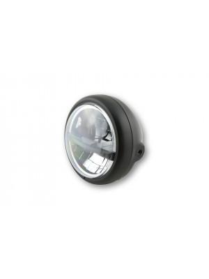 [223-215] 5 3/4 tum LED-strålkastare PECOS TYP 5, svart matt