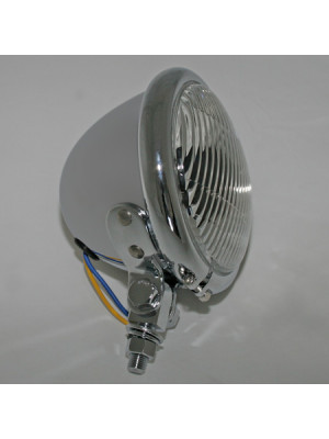[222-037] 4 1/2 tum fog lamp med glödlampa, Bates-Style