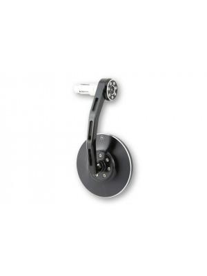 [301-014] Styrändsspegel CONERO, svart anodiserat