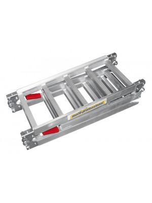 [397-104] Vikbar aluminiumramp TRIPLE