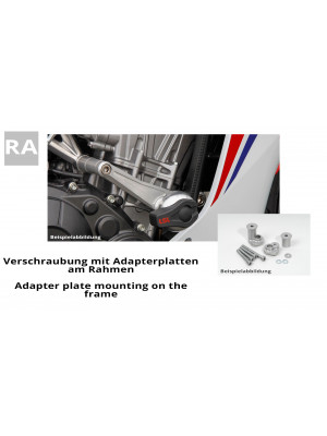 [550T027] CRASH PAD® monteringskit Speed Triple, 97-04