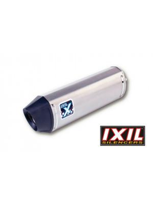 [072-980] Rostfri ljuddämpare-helsystem HEXOVAL XTREM MT-09 14-, svart Endcap, med katalysator.
