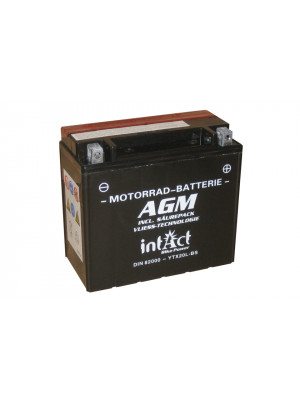 [297-218] Bike Power battery CTX 20L-BS maintenance-free -incl. acid-package