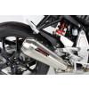 [090-6089] TAKKONI rostfritt helsystem ljuddämpare, Honda CB 125 R, 18-