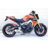 [090-980-4] Borstader Rostfri helsystem till Yamaha MT-09 & XSR 900, 16- (Euro4)