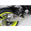 [OY 960 RR] RC1 rostfritt helsystem ljuddämpare, svart, Yamaha XSR 700 17-18