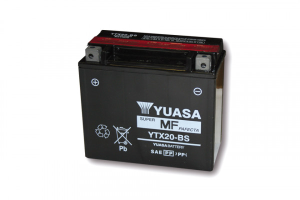 [291-221] Battery YTX 20-BS maintenance free