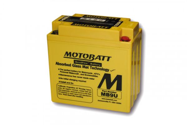 [294-060] Batteri MB9U, 4-polig