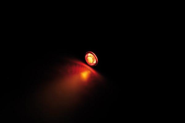 [254-176] LED tail light, brake light, turn signal unit APOLLO CLASSIC, black