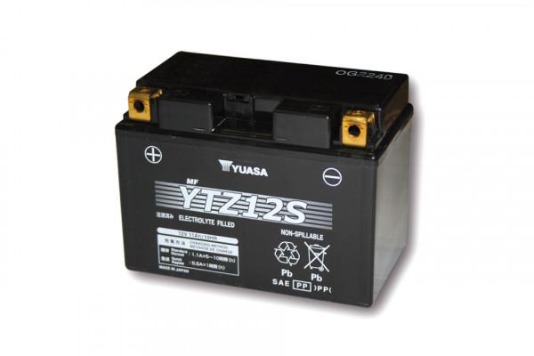 [291-312] Batteri YTZ 12 S underhållsfritt (AGM), 12V 8,6AH