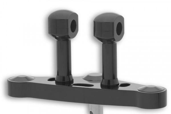 [150-911.v] Alu-Risers, 100 mm för 1 tums styre