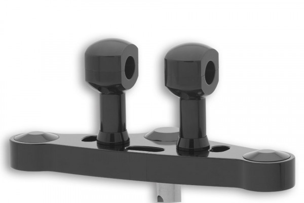 [150-971.v] Alu-Risers, 75mm för 1 tums styre