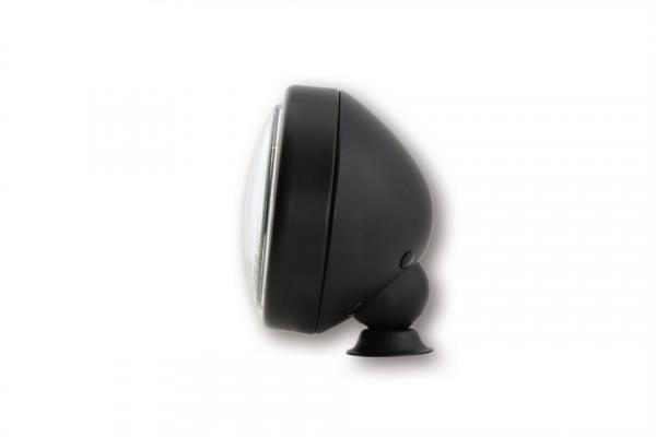 [223-458] 4 tum LED-halvljusstrålkastare, matt svart
