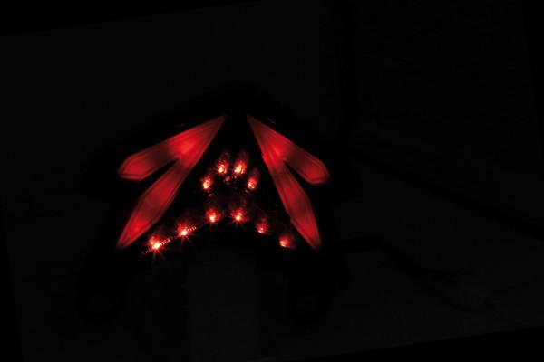 [253-386] LED bakljus för KAWASAKI NINJA ZX-6 R, Z 800