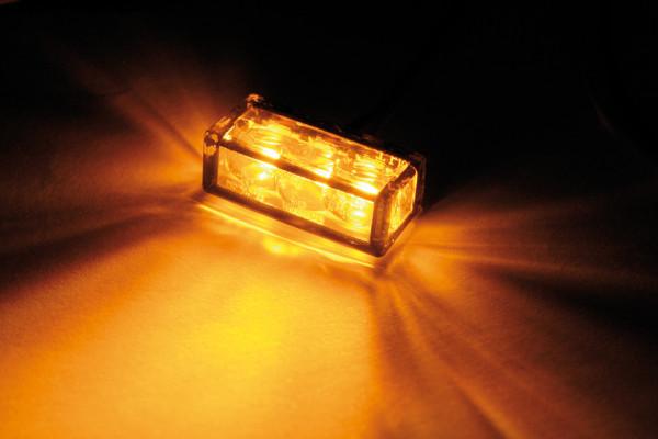 [204-122] LED-blinkers CUBE-H med 3 SMDs, för inbyggnad.