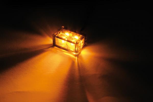 [204-161] LED-blinkers MICRO CUBE-H med 2 SMDs, för inbyggnad.