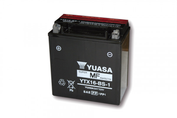 [291-219] Battery YTX 16-BS-1 maintenance free
