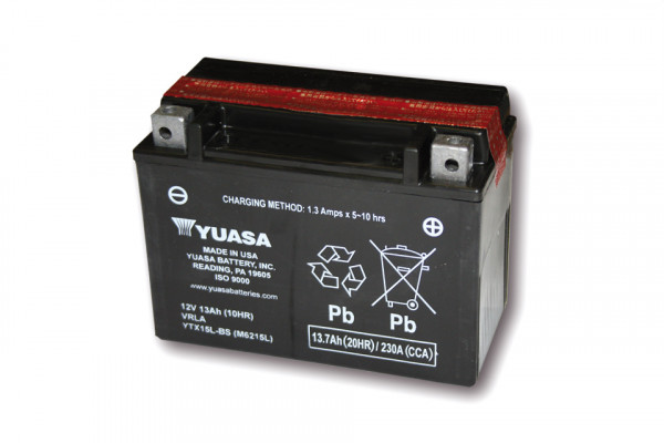 [291-215] Battery YTX 15L-BS maintenance free