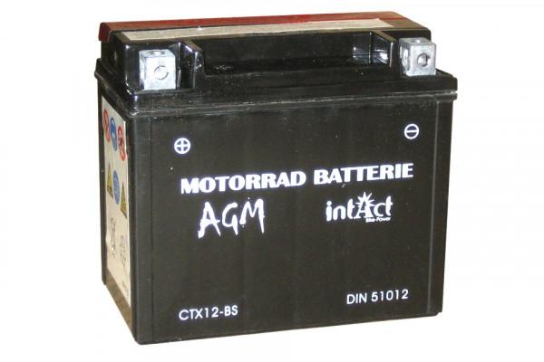 [297-212] Bike Power battery CTX 12-BS, maintenance-free, incl. acid-package