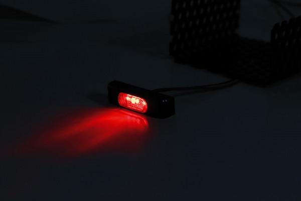 [255-167] LED-bakljus CONERO T2, rökfärgat glas