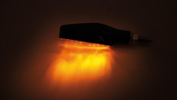 [204-102] LED-blinkers STIX, svart, E-märkt
