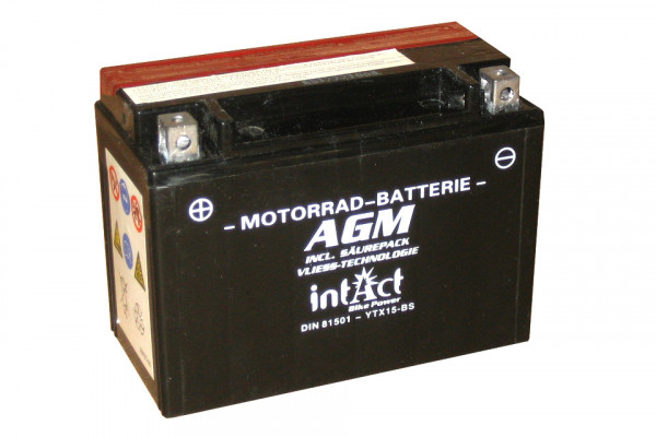 [297-213] Bike Power battery YTX15-BS incl. acid-pac