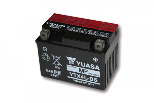 [291-204] Battery YTX 4L-BS maintenance free