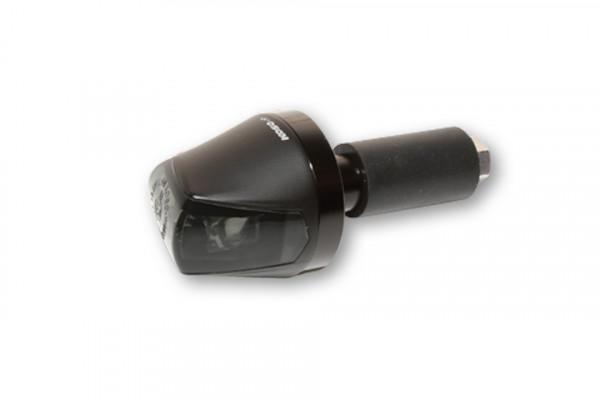 [204-152] KOSO LED Styrändsblinkers KNIGHT, rökfärgat