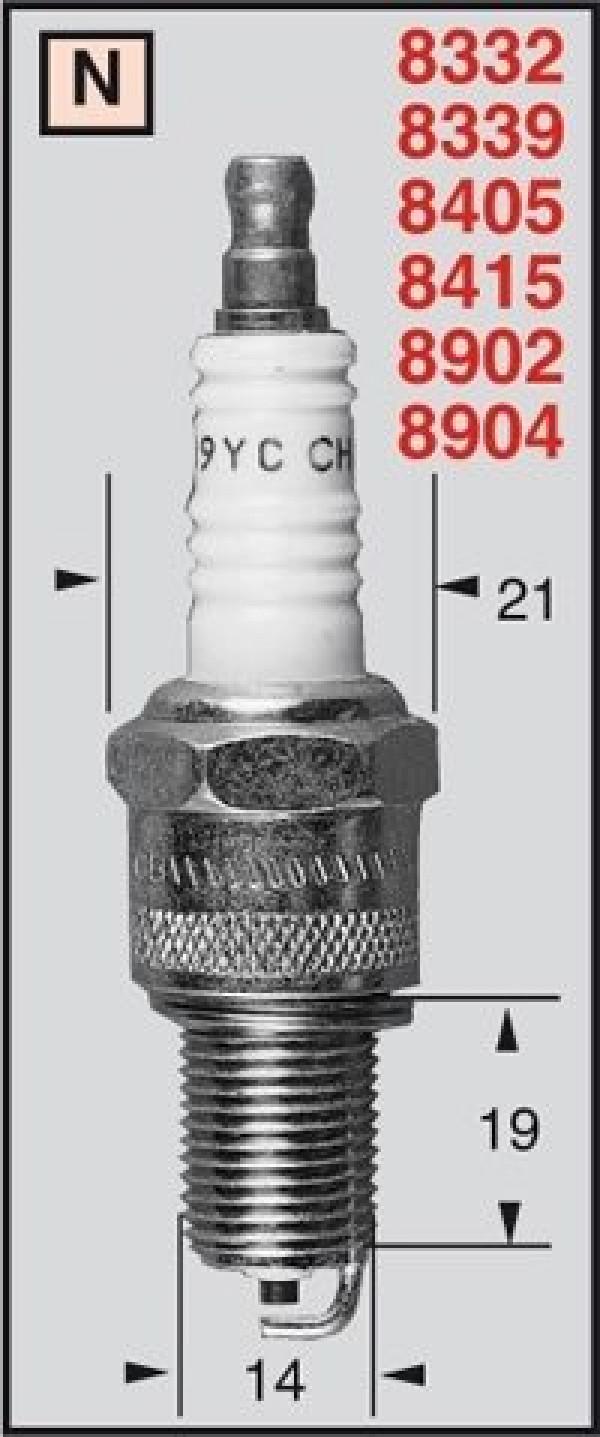[213-160] Tändstift RN9YC