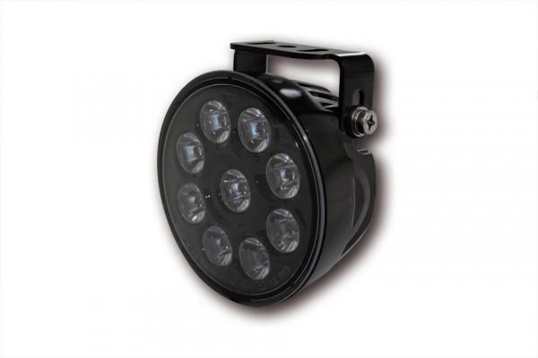 [222-214] LED-helljusstrålkastare insats, svart reflektor