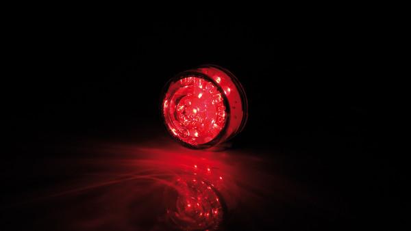 [255-850] Insats LED-Mini-bakljus BULLET, rund, glas transparent