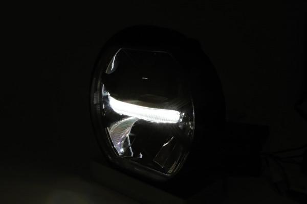 [223-200] LED huvudstrålkastare THUNDERBOLT med positionsljus, svart