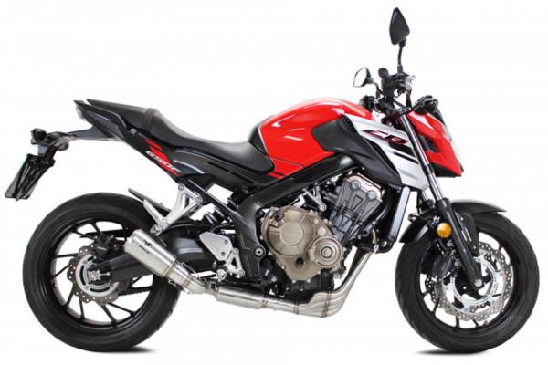 [064-656] IXRACE MK2 rostfritt helsystem ljuddämpare, Honda CB 650 F/CBR 650 F, 14-