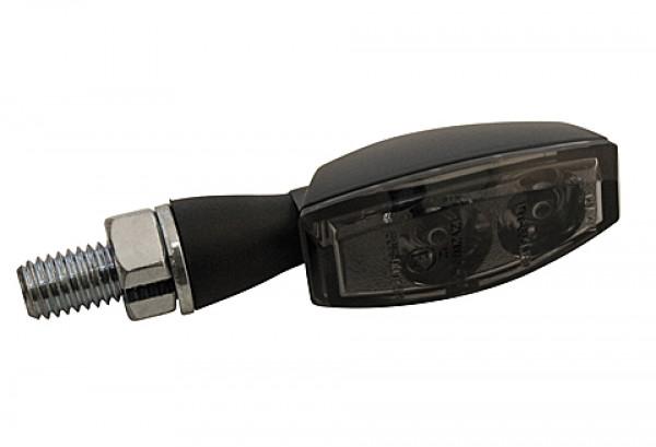 [254-30] LED-bakljus-/blinkers BLAZE, svart, rökfärgat