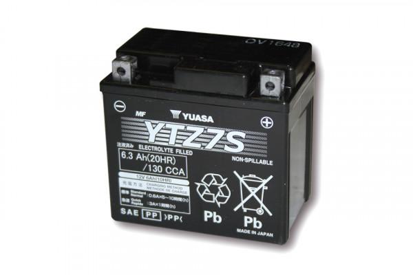 [291-302] Batteri YTZ 7 S underhållsfritt (AGM)
