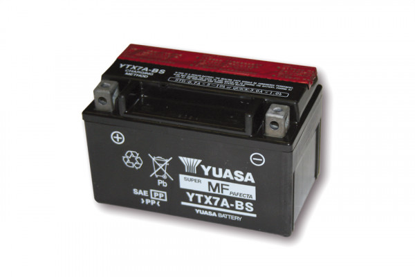 [291-208] Battery YTX 7A-BS maintenance free