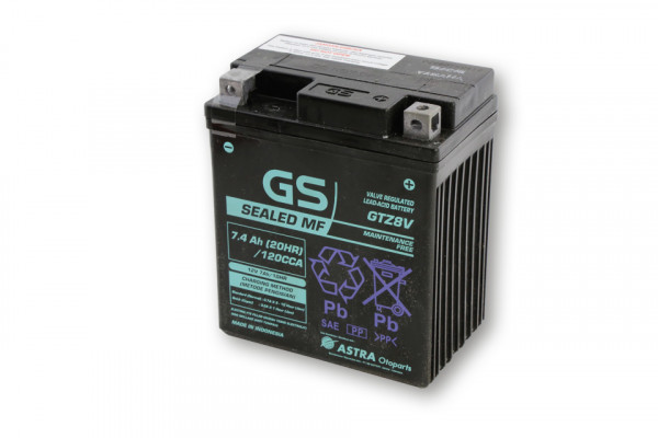 [291-303] Batteri YTZ 8 V underhållsfritt (AGM)