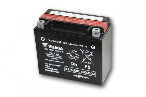 [291-226] Battery YTX 20HL-BS maintenance free