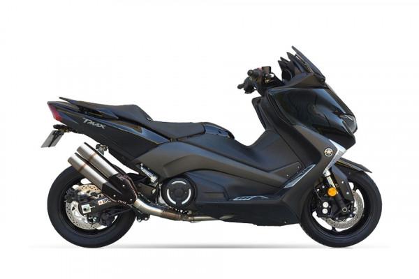 [176-2397] L5X-Hyperlow-rostfritt helsystem ljuddämpare, Yamaha T-Max DX/SX, 17-18