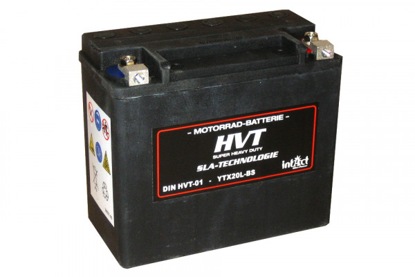 [298-218] Bike Power batteri HVT YTX20L-BS, fyllt och laddat