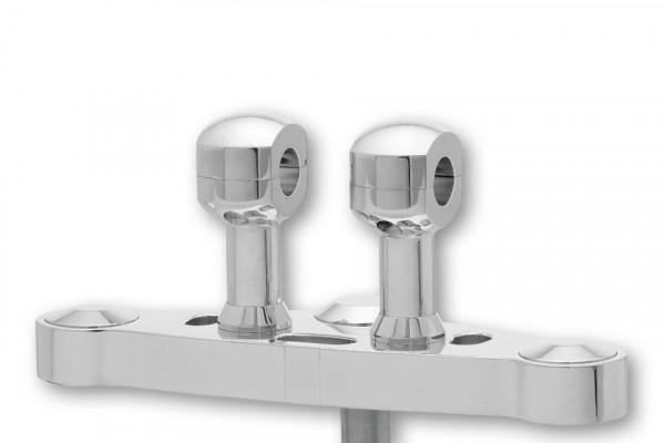 [150-975.v] Alu-Risers, 75mm för 1,25 tums styre