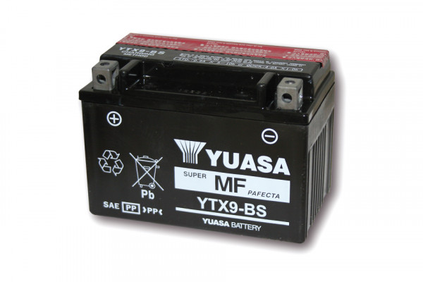 [291-209] Battery YTX 9-BS maintenance free
