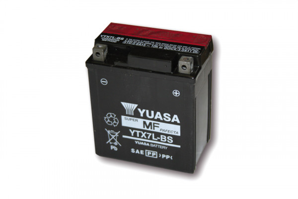 [291-207] Battery YTX 7L-BS maintenance free