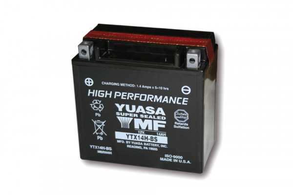 [291-223] Battery YTX 14H-BS maintenance free