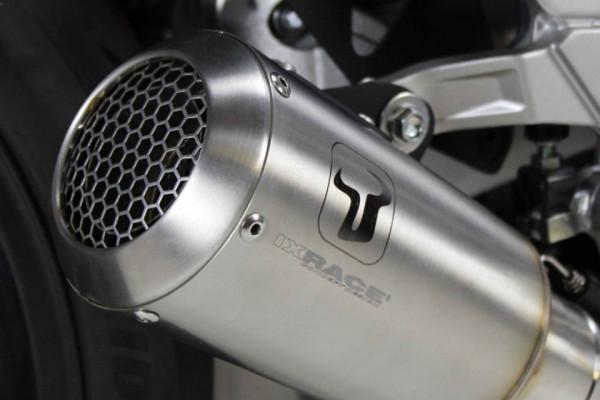 [064-960.v] MK2 rostfritt helsystem ljuddämpare, svart, Yamaha XSR 700 17-18